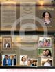 Kenya DIY Funeral Tri Fold Brochure Template inside view