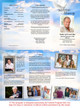 Peace DIY Legal Funeral Tri Fold Brochure Template inside view