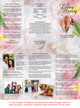 Pearls DIY Legal Funeral Tri Fold Brochure Template inside view