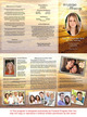 Shine DIY Legal Funeral Tri Fold Brochure Template inside view
