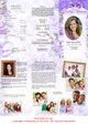 Amethyst Large Tabloid Trifold Funeral Brochures Template inside view