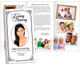 Cadence Large Tabloid Trifold Funeral Brochures Template