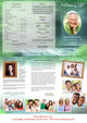 Cascade Large Tabloid Trifold Funeral Brochures Template inside view