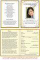 Affinity A4 Program Funeral Order of Service Template inside view