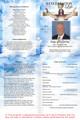 Assurance A4 Program Funeral Order of Service Template inside view