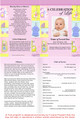 Darling A4 Program Funeral Order of Service Template inside view