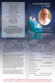 Enlighten A4 Funeral Order of Service Template inside view