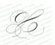 Monogram Script Letter X