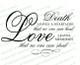 Death Is A Heartache Funeral Poem Word Art