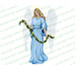 Charity Angel Funeral Clip Art light skin