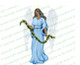Charity Angel Funeral Clip Art dark skin