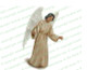 Delilah Angel Vector Funeral Clipart dark skin