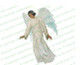 Devout Angel Funeral Clipart dark skin