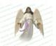 Holy Angel Vector Funeral Clipart dark skin