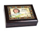 Cherub Jewel In Loving Memory Music Memorial Keepsake Box