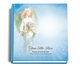angelic funeral guest book