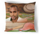 Baseball In Loving Memory Memorial Pillows