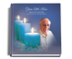 Enlighten funeral guest book with photo