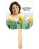 Inspire Cardstock Memorial Church Fans With Wooden Handle front photo