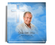 Heaven funeral guest book with photo
