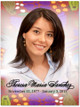 Bonita In Loving Memory Memorial Portrait Poster