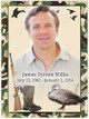 Camouflage Funeral Memorial Poster Portrait