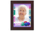 Crochet In Loving Memory Memorial Portrait Poster frame