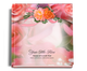rosy funeral guest book
