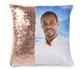 Heavenly Memorial Magic Swipe Reversible Mermaid Sequin Pillow