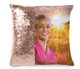 Sunset Memorial Magic Swipe Reversible Mermaid Sequin Pillow