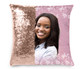 Pink Accent Memorial Magic Swipe Reversible Mermaid Sequin Pillow