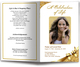 Royalty Funeral Program Template