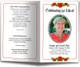 Desire Letter Funeral Program Template