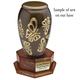 Octagon Wood Cremation Urn Stand Base