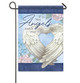 Angels Watch Over You Memorial Garden Flag front