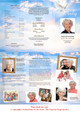 Peace Large Trifold Brochure Template inside  view