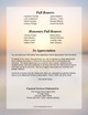 Vision Tabloid 8-Sided Graduated Funeral Program Template