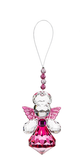 Guardian Angel of Remembrance Sparkling Acrylic Ornament  pink