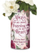 Memorial Photo Flower Vase In Loving Memory - Tropical Flowers