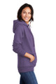 Fleur Di Lis Embroidery Fleece Hooded Memorial Sweatshirt (Ladies/Men)