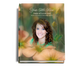 Floral Perfect Bind Memorial Funeral Guest Book 8x10 with photo
