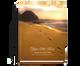 Footprints Perfect Bind Memorial Funeral Guest Book 8x10