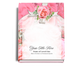 Precious Perfect Bind Funeral Guest Book 8x10
