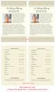 Alexa Half Sheet Funeral Flyer Template inside view