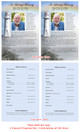 Beacon Funeral Flyer Half Sheets Template inside view