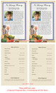Chef Funeral Flyer Half Sheets Template inside view