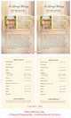 Crossing Funeral Flyer Half Sheets Template inside view
