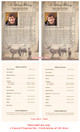 Deer Funeral Flyer Half Sheets Template inside view