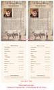 Deer Funeral Flyer Half Sheets Template inside view
