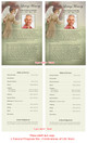 Delilah Funeral Flyer Half Sheets Template inside view